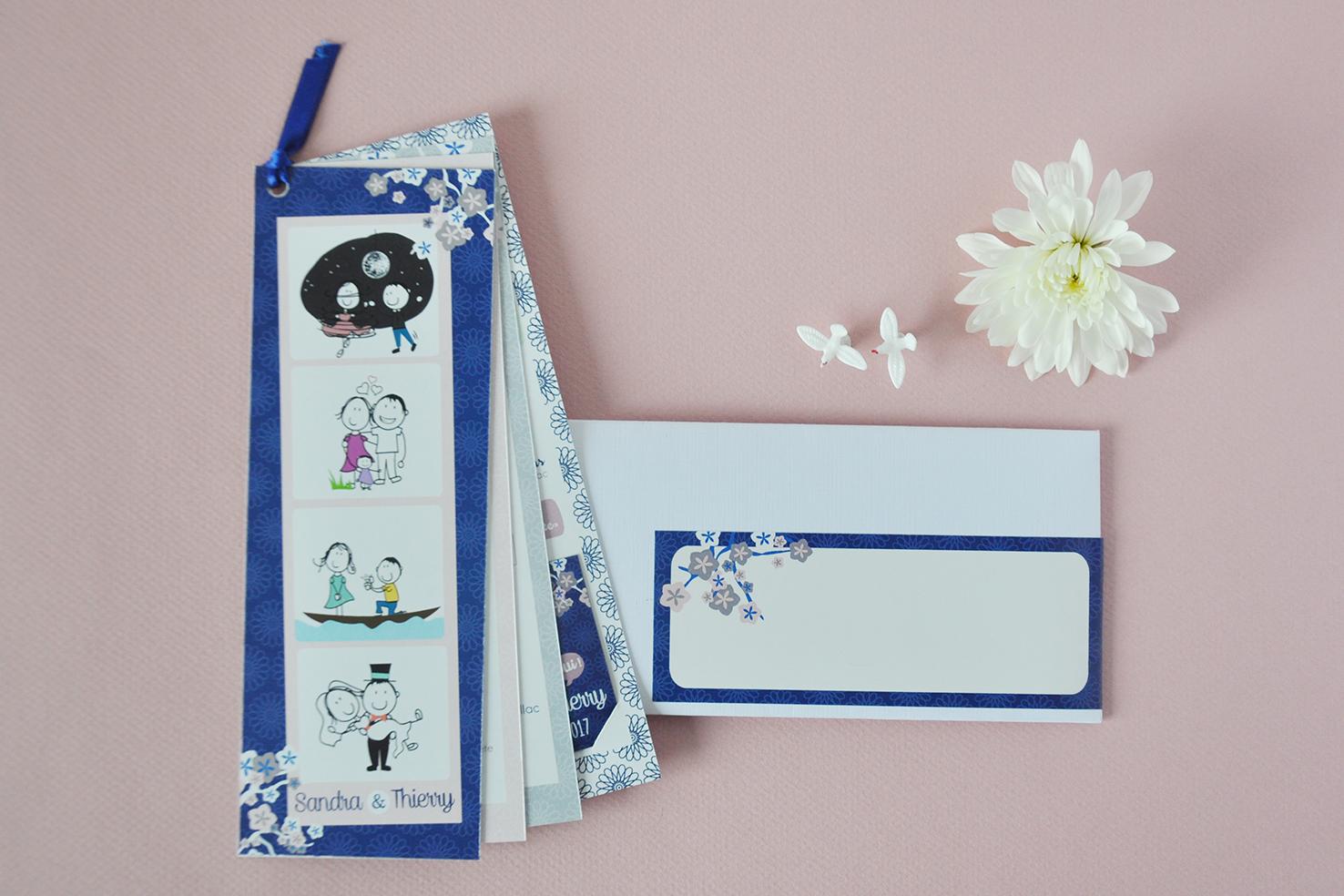 arr te de r ver faire part le mariage de sandra et thierry inspiration japonaise. Black Bedroom Furniture Sets. Home Design Ideas