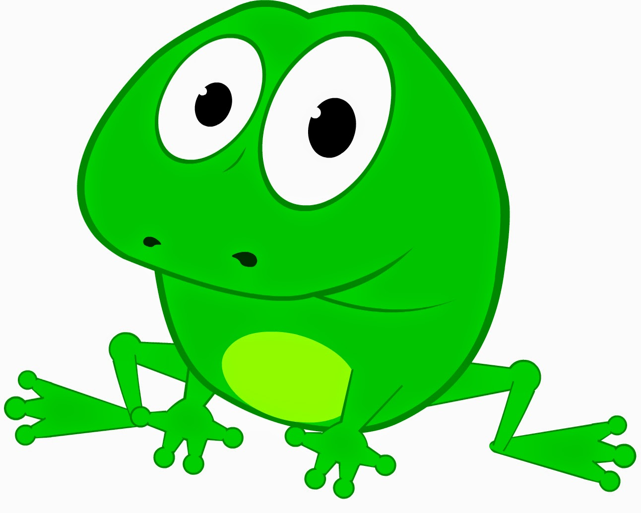 Cute Frog Song For Children Counting From 1 To 10