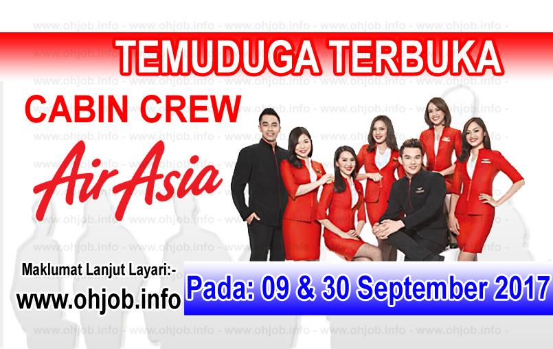 Jawatan Kerja Kosong AirAsia Berhad logo www.ohjob.info september 2017
