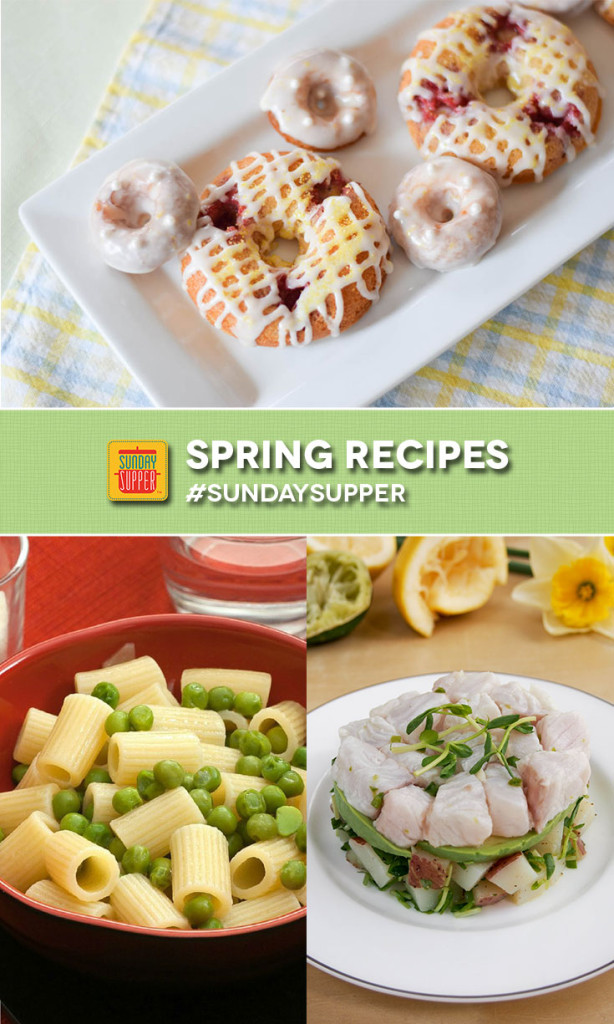 Spring Recipes Preview | Renee's Kitchen Adventures - over 50 recipes made with fresh Spring ingredients celebrating the arrival of Spring! #SundaySupper