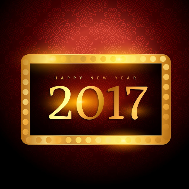 Best Happy New Year 2017 3D Wallpaper Free Download