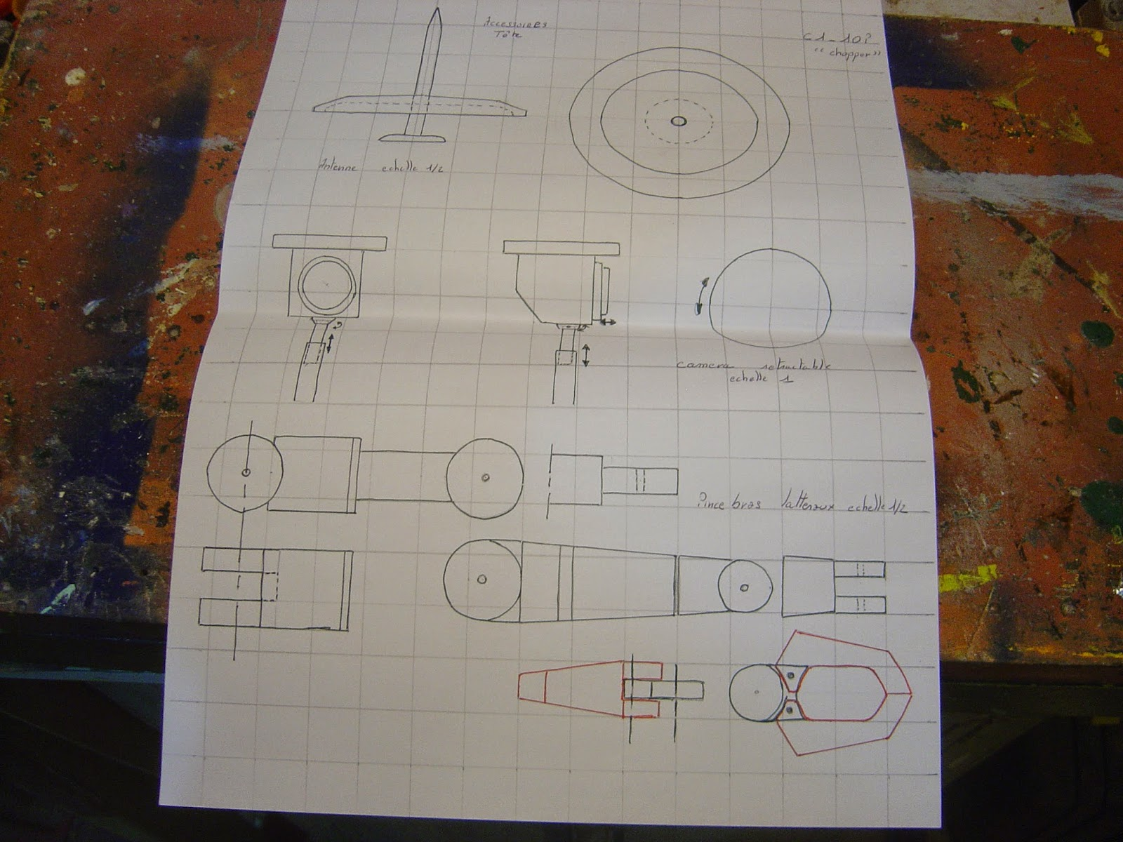 blueprint star wars droid