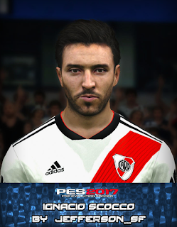 PES 2017 Faces Ignacio Scocco by FaceEditor Jefferson_SF