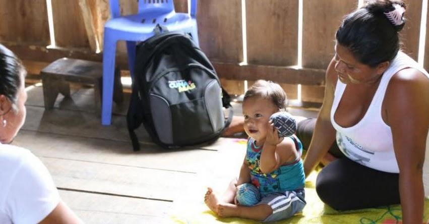 CUNA MÁS: Supervisan atención del programa social en la región Loreto - www.cunamas.gob.pe