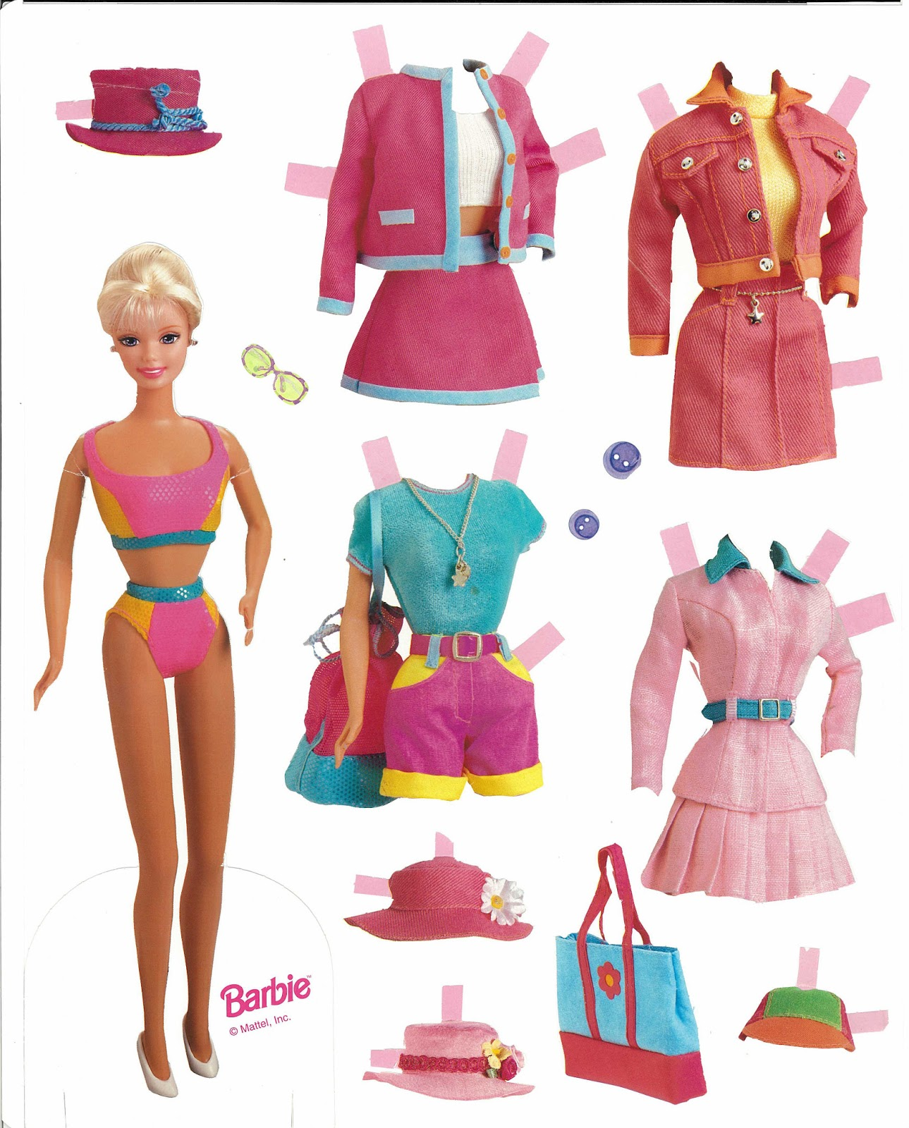 photo relating to Printable Barbie Paper Dolls identified as Miss out on Missy Paper Dolls: Barbie paper dolls