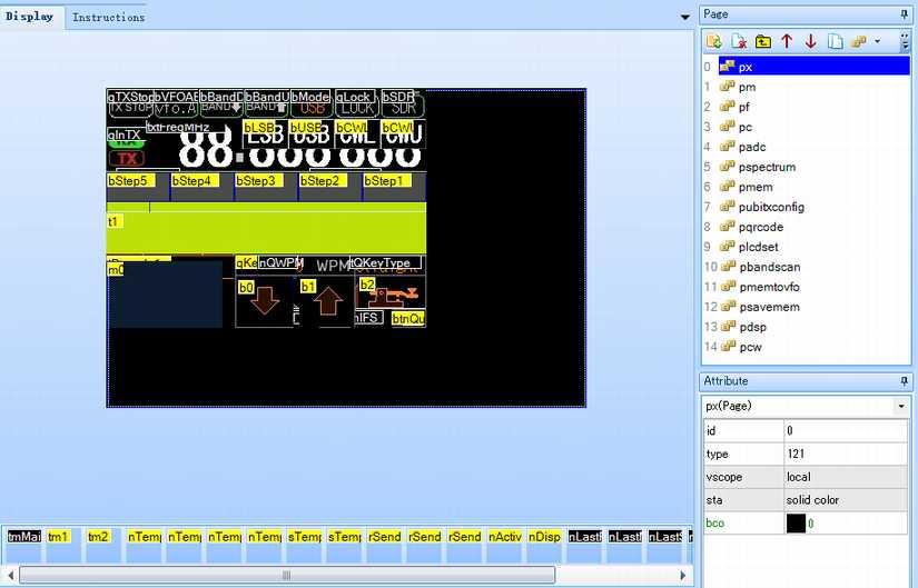 59からのんびりと・・・: uBITX の Nextion LCD を、2 8