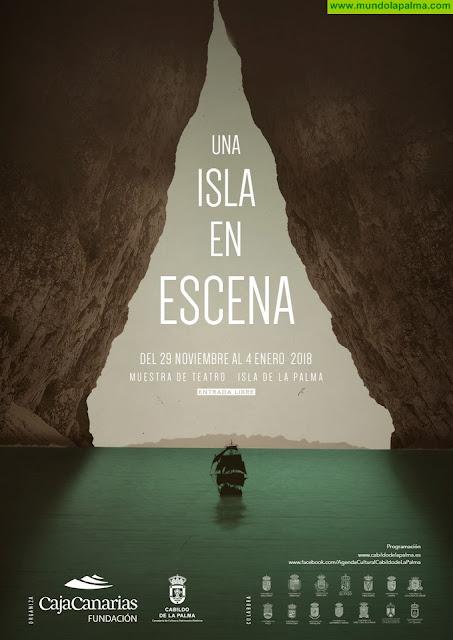 El ciclo teatral 'Una isla en escena' lleva nuevas funciones a Puntallana, Villa de Mazo, Los Llanos de Aridane y El Paso
