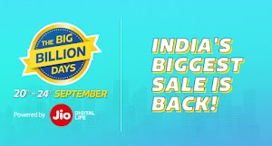 (Deals Added) Flipkart Big Billion Day Sale - Get upto 80% OFF + Extra 10% via SBI Debit/Credit cards