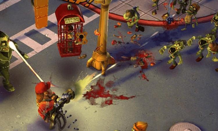 تنزيل لعبه زومبي zombie anarchy
