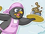 طبخ غداء البطريق