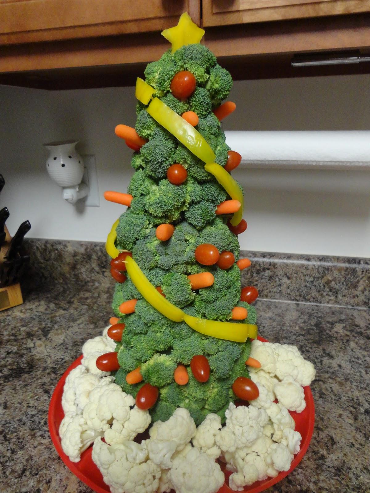 Spark and All: Veggie Christmas Tree