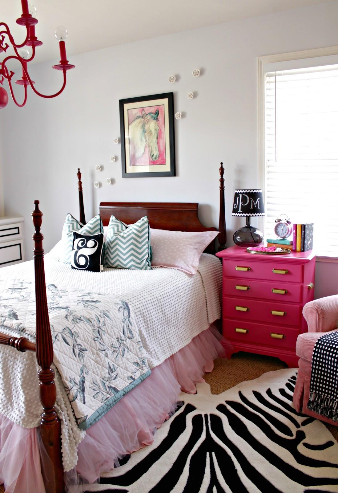 Fresh Pink Nightstand