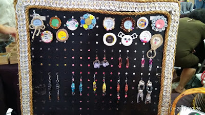 Recycled items turned into jewelry and other items