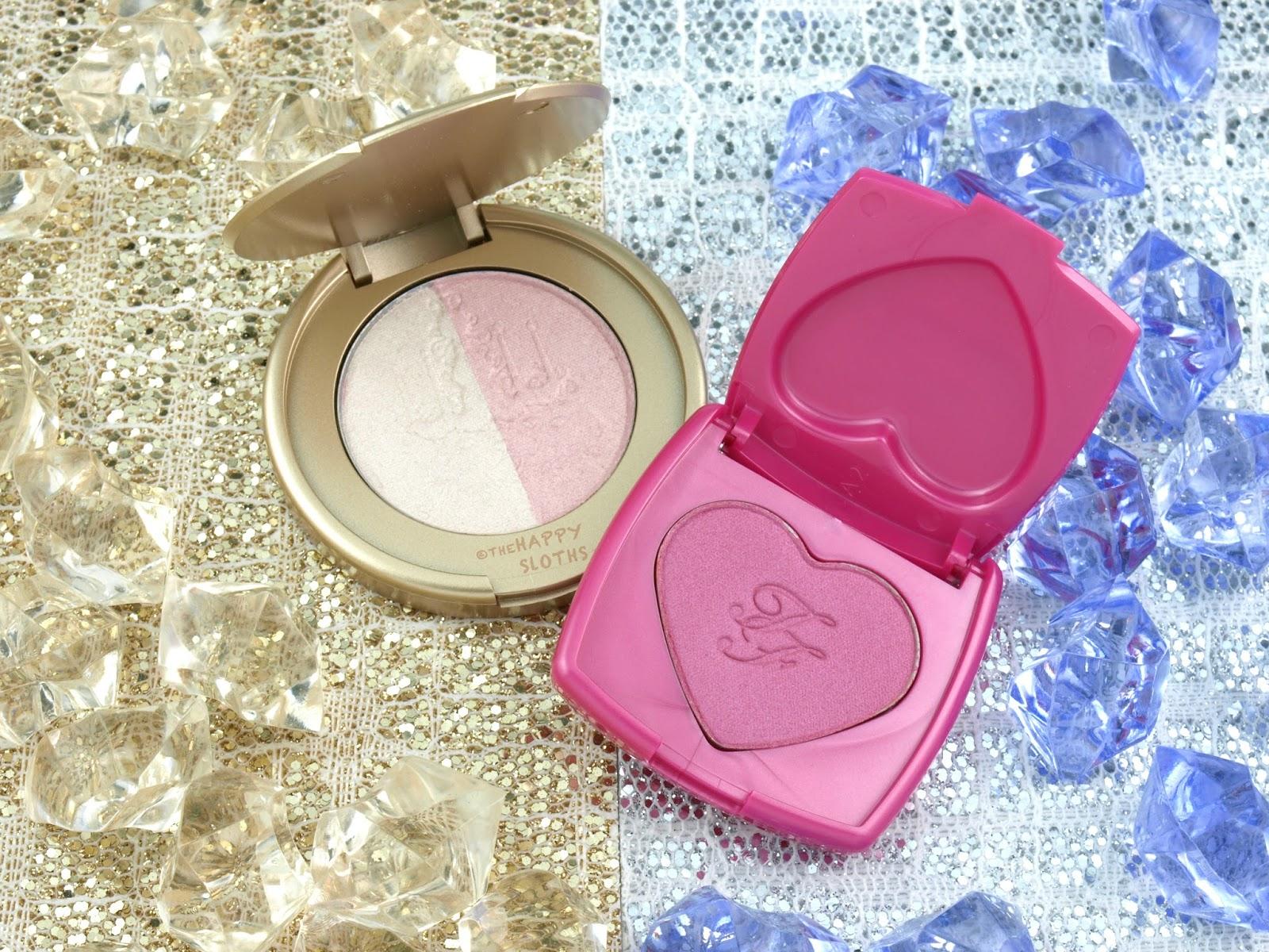 Too Faced x Kat Von D Cheek & Lip Makeup Bag Set: Review and Swatches