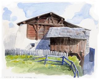 La casa senza nord fienile - La casa senza nord ...