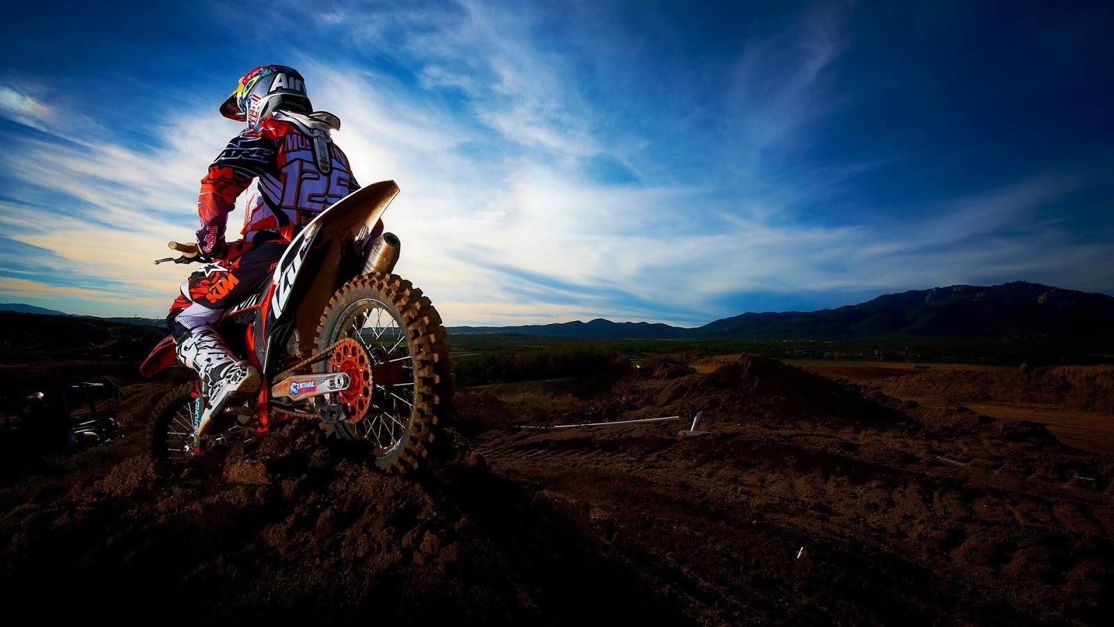 Fond d'écran moto cross KTM - Fonds d'écran HD