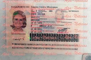 Cae sujeto que llevaba pasaportes falsos para Duarte de Ochoa y Karime