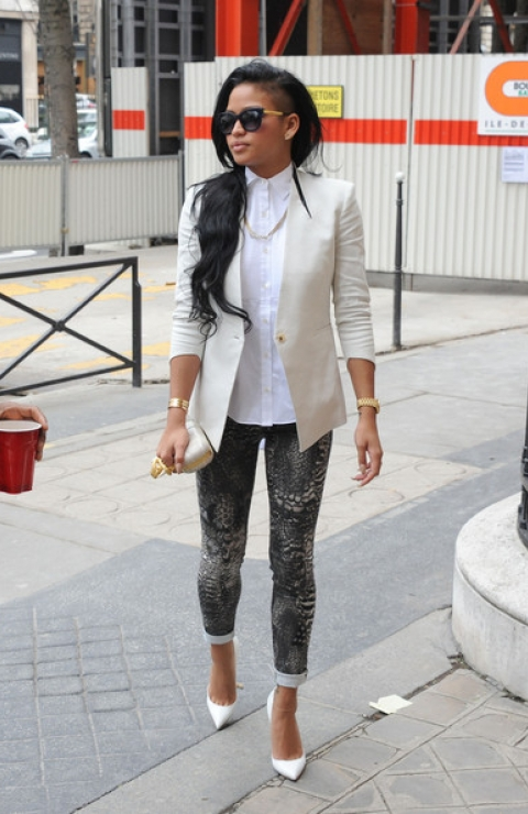 style NOT fashion: Cassie's Sexy & Distinct Style