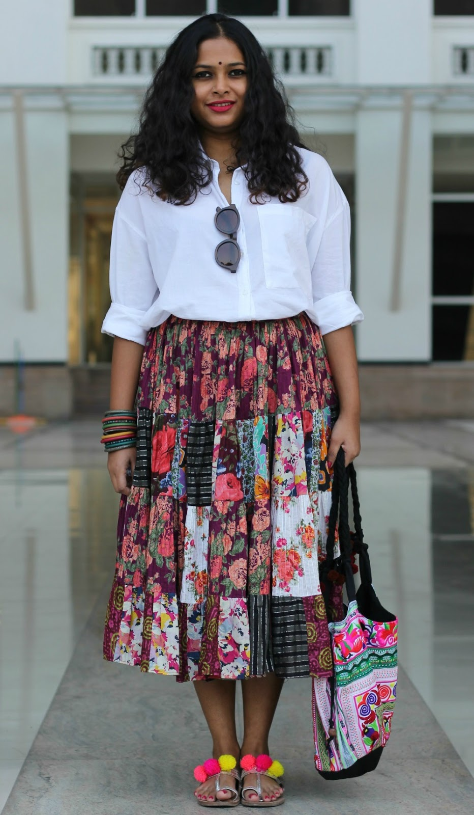 How to wear a Bohemian Skirt - Live Laugh Dressup