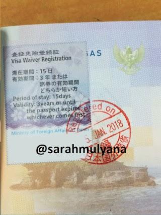 Tips Mendapatkan Visa Waiver Jepang Terbaru