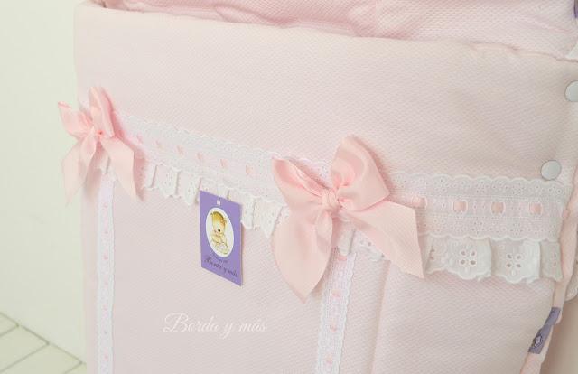 sacosilla BEBECAR IPOP XL rosa blanco