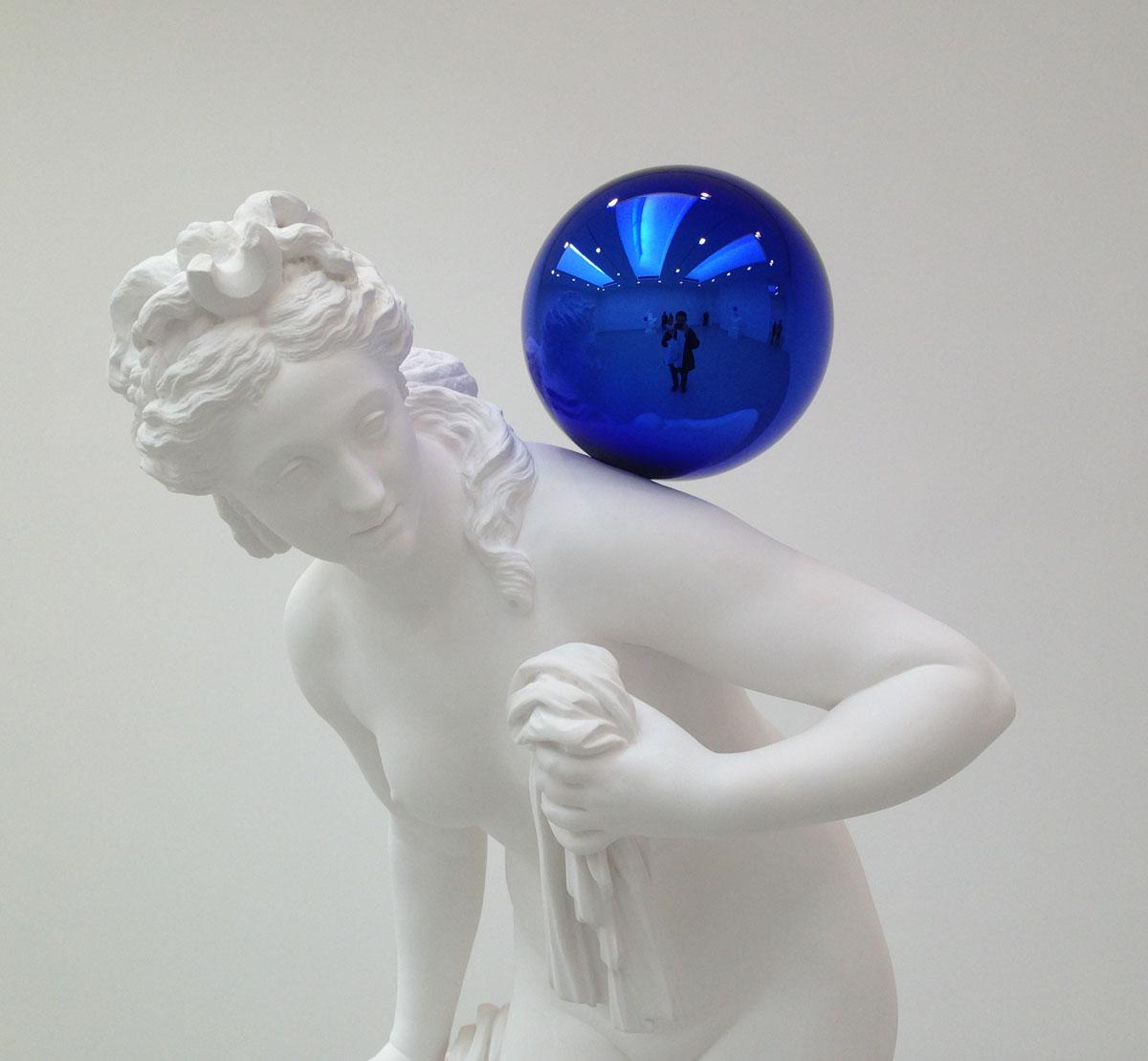 ART BLOG ART BLOG: JEFF KOONS: GAZING BALL @ DAVID ZWIRNER