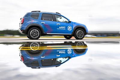 ZF divulga conceito híbrido de eixo com transmissão manual automatizada