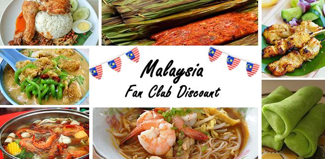 Malaysia Fan Club Discount