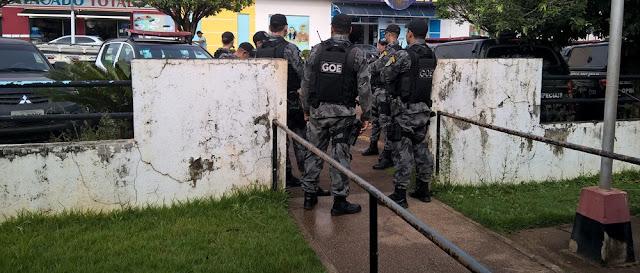 Operação policial prende dois homens em flagrante por tráfico de drogas em Cacoal