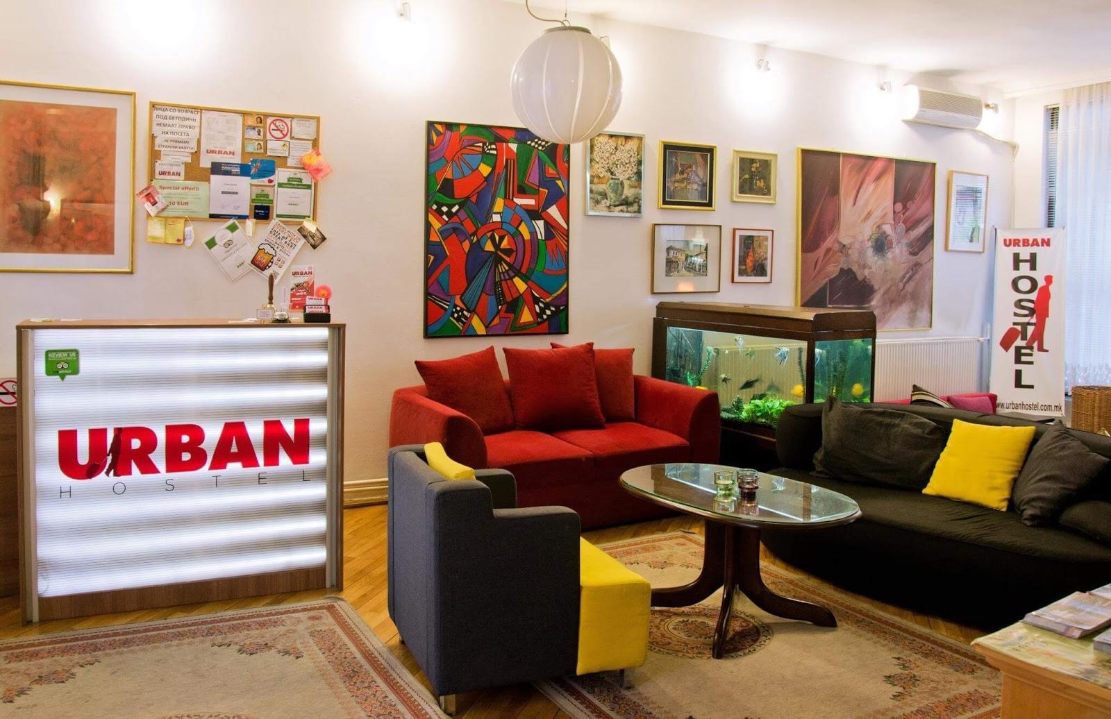 Urban Hostel Üsküp Makedonya