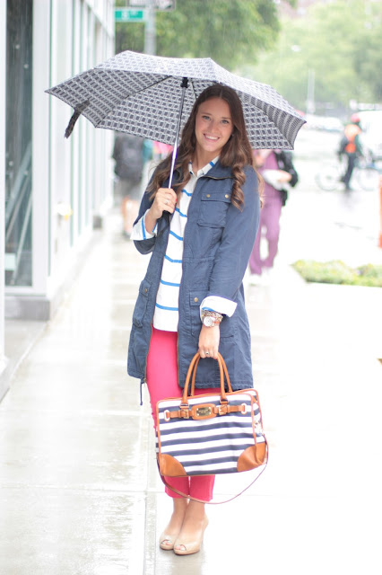 covering the bases blog, krista robertson,fashion blogger, What to wear on a rainy day