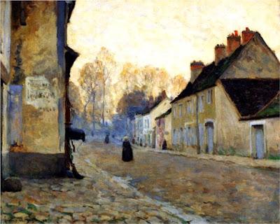 Moret-Sur-Loing, Clarence Gagnon (1908)