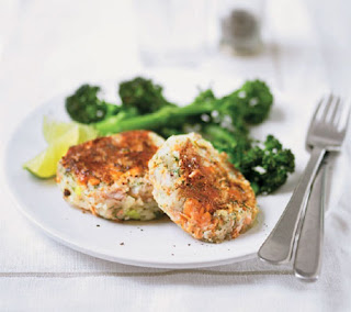 trout and dill fishcakes recipe