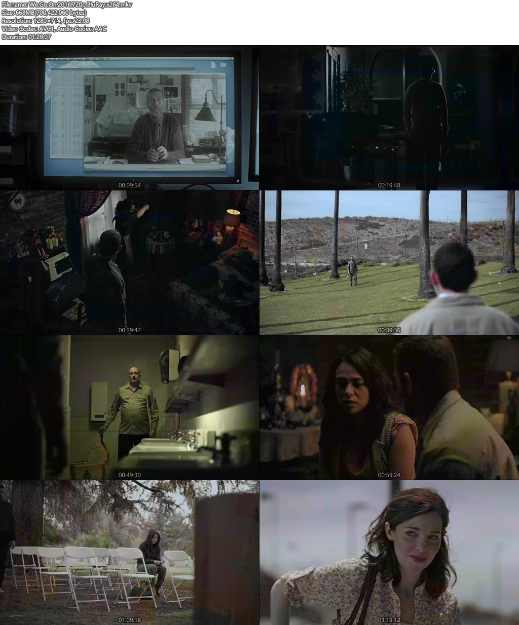 We Go On 2016 720p BluRay x264 | 480p 300MB | 100MB HEVC Screenshot