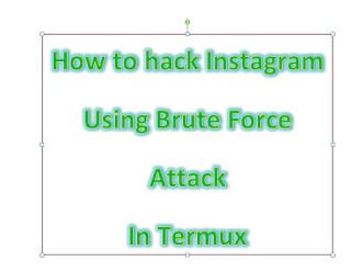 Instahack - Instagram bruteforce tool In Termux | Vabs tutorials