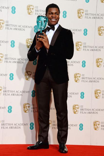 John Boyega Wins BAFTA 2016