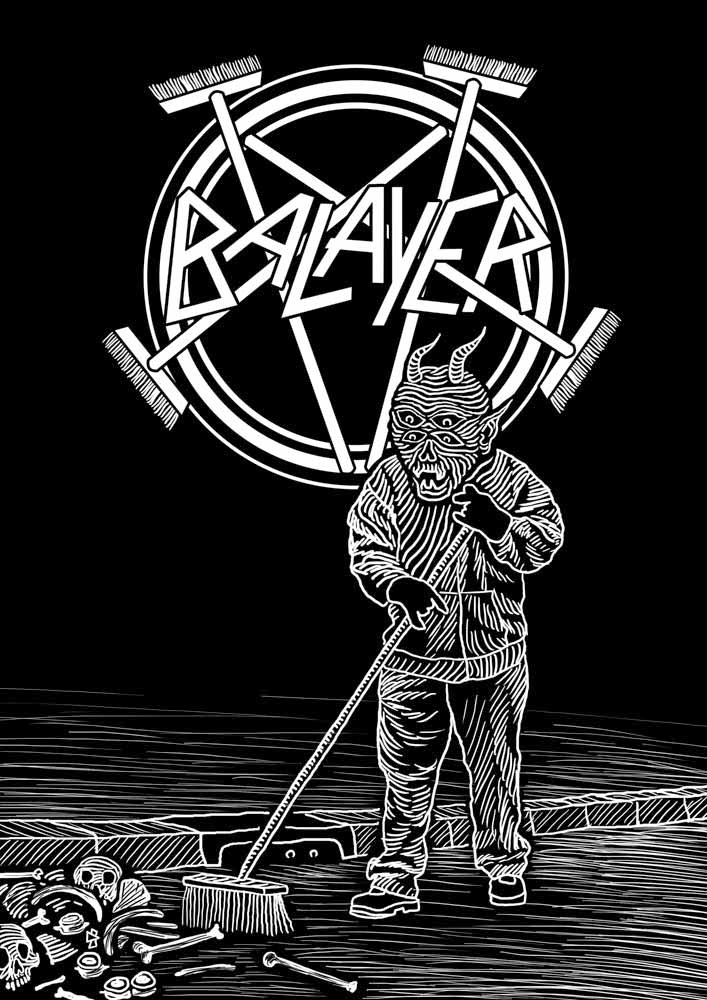 Slayer Cover Art Tribute Metal Covers