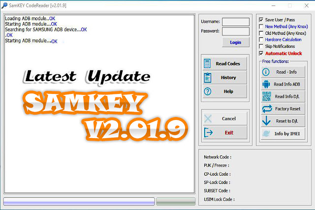 Download Latest  SamKEY2.37.1 Full Version 2019