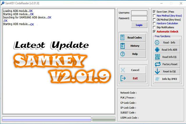 Download Latest Samkey v2.01.9 Full Version 2019