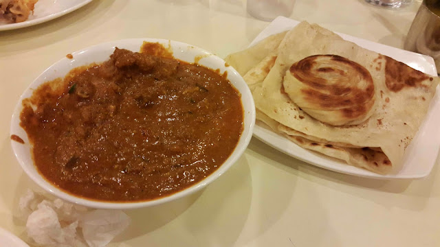 Chicken Mughlai with Coin and Ceylon Porotta