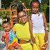 Blac Chyna and her children, King Cairo and Dream Kardashian in new pphotos