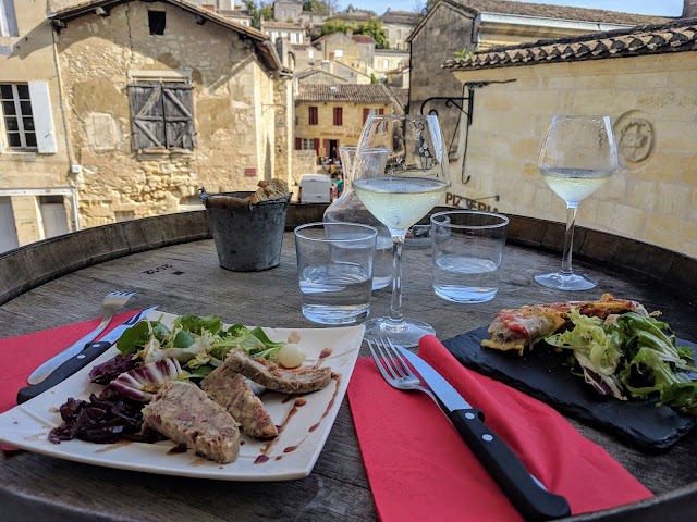 Bordeaux to St. Emilion: lunch at L'Antre Deux Verres