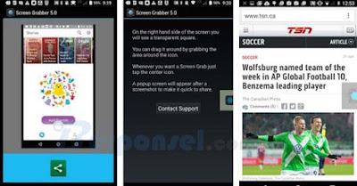 aplikasi untuk mengambil gambar layar android gratis dan udah digunakan