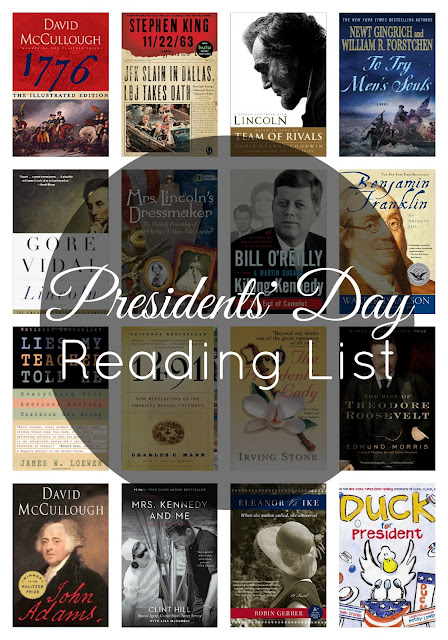 book suggestions for presidents day