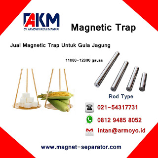 Magnetic Trap Type Rod