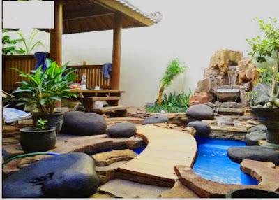 Taman Relief 3D - dekorasi Taman | Jasa Tukang Taman Surabaya VIII