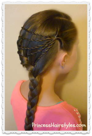 shooting star #braid #hairstyle