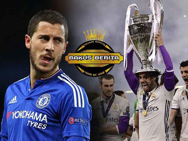 Setelah Madrid Juara, Hazard Ingkar Janji Bertahan Di Chelsea