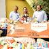 Empresa entrega un donativo de 2 toneladas de alimentos al DIF