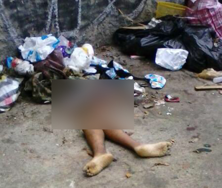 Encontraron dos piernas de mujer en Los Palos Grandez